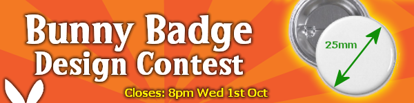 Bunny Badge Competition